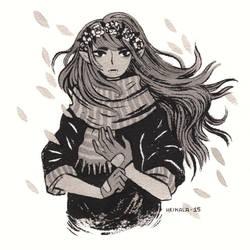 Vampire girl by heikala