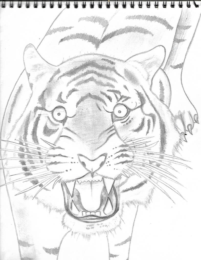 Tiger by Mew126
