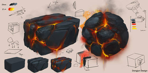Hot Stone Study by DongjunLu