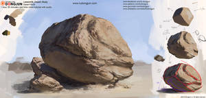 Lesson09 Desert Rock by DongjunLu
