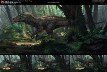Lesson15 Jurassic Jungle by DongjunLu