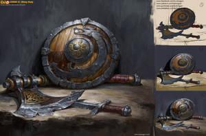Lesson23 Viking Study_Viking Weapon by DongjunLu