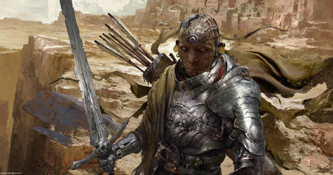 Desert Knight by DongjunLu