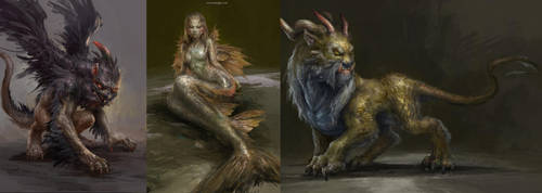 Creature Designs by DongjunLu