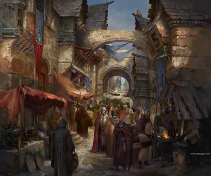 Verum Street Painting by DongjunLu