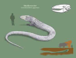 Spec Challenge - Skullcrawler by Dontknowwhattodraw94