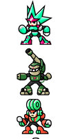 MegaMan ''Sprites''-Unlimited Bosses by WaneBlade