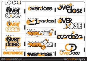 media overdose logo by stitchDESIGN