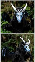 Dragonface costume by zarathus