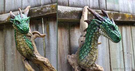 Driftwood Dragon by zarathus