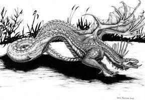 Dragon-thing by zarathus