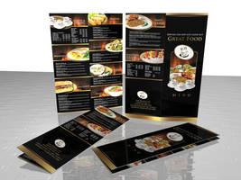 flyer menu by pampilo