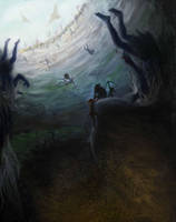 Ascent from the Underdark by samurai-squash
