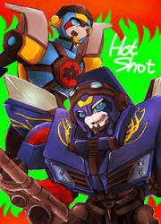 TFA and TFP Hot shot by osame-misaka