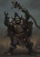Orc Shaman by RafalDorsz