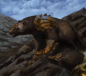 Wolverines by RafalDorsz