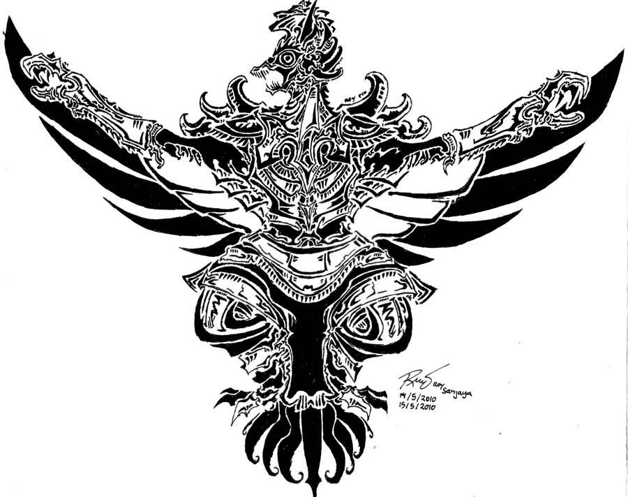 Tribal Garuda 3 By RoyCorleone On DeviantArt