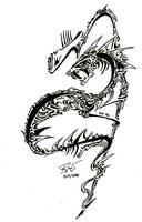 Tribal Serpent by RoyCorleone