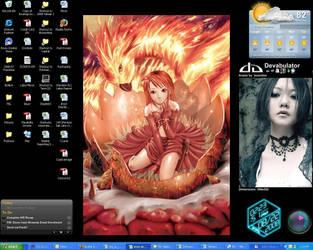 My Work Desktop by JCServant