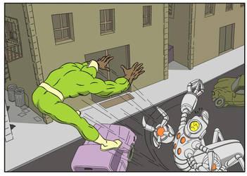 Laz Comic Color Job 01.04.10 by JCServant