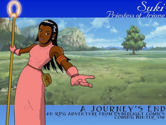 Suki, Priestess of Triune by JCServant