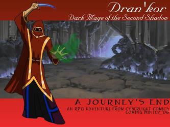 Dran'Kor - Dark Mage by JCServant