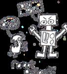 robot attack by spirit159
