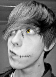 yellow eye weirdo by spirit159