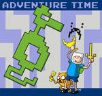 Atari Adventure Time by xkappax