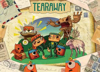 Tearaway by xkappax
