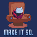 Catbug - Make It So! Tee Design by xkappax