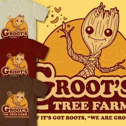 Groot's Tree Farm by xkappax