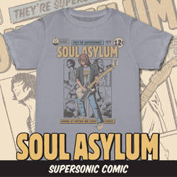 Supersonic Comic - Soul Asylum Preorder Shirt by xkappax