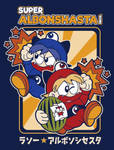 Super Albonshasta Bros. Tee Design by xkappax