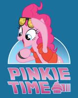 Pinkie Time Tee Shirt Design by xkappax