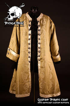 1650's Pirate coat by Picklethis
