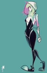 Spider-Gwen by nooligan