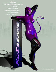 Catwoman PURR by Adiene by Rozbeans