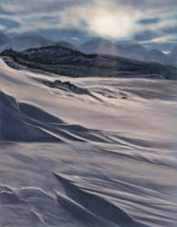 Ice Landscape - study by Leia1987