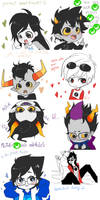 Homestuck dump 002 by Ashe-Star