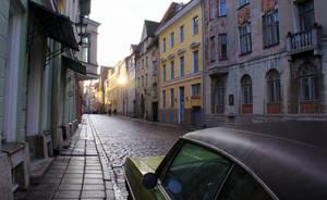 Streets of Tallinn by Asligg