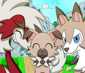 Pup family by PKM-150