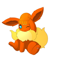 Scout the Flareon by PKM-150