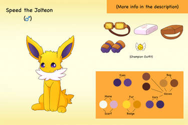 Bio: Speed the Jolteon by PKM-150