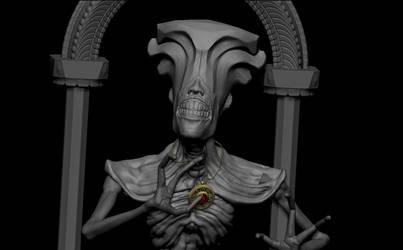 Wip bone head by BaronVonMunchausen