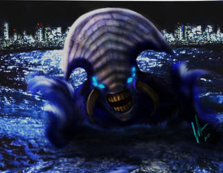 Kaiju by BaronVonMunchausen