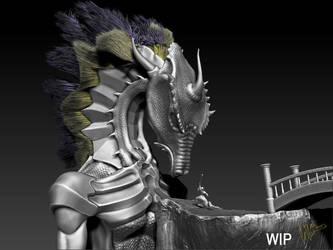 Dragon by BaronVonMunchausen
