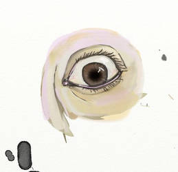 Practice eye (digital) 1 by Valkyrie335
