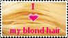 Blond Hair Stamp by SavannaH09