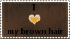 Brown Hair Stamp by SavannaH09